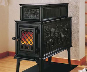 J 248 Tul F 118 Cb Black Bear Acme Stove