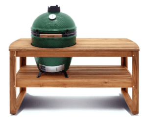... Big Green Egg Acacia Table. 🔍.  Grill_charcoal_green_egg_acacia_table_front