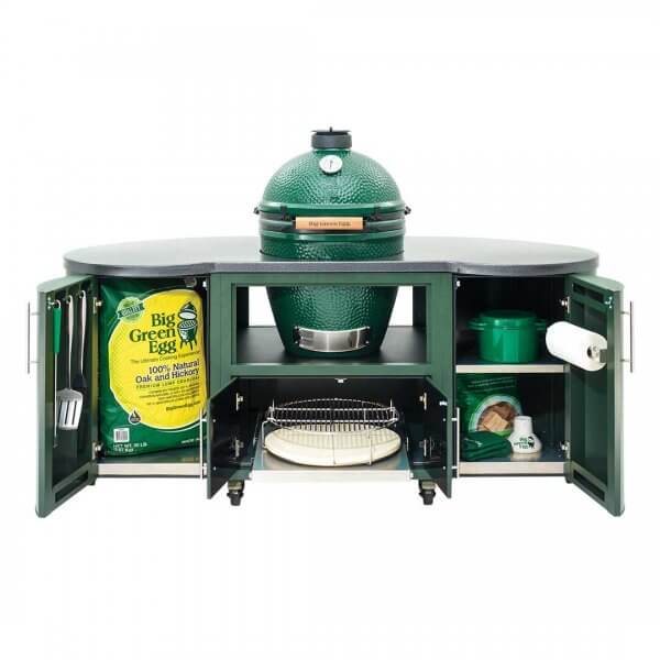Big Green Egg 76 inch Custom Cooking Island