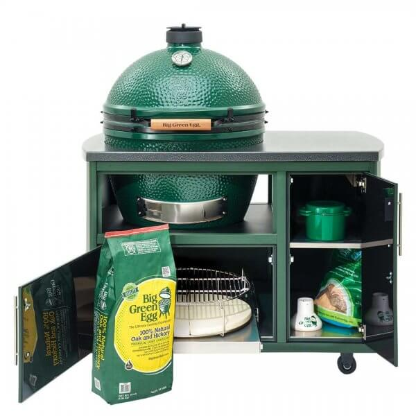 Big Green Egg 49 inch Custom Cooking Island